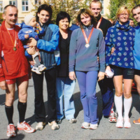Bild Die Familie Strosny ist mit drei Generationen am Stadtlauf Beteiligt.