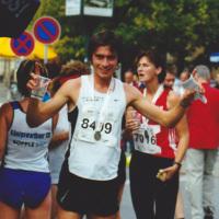 Bild Der Sieger des 13. Stadtlauf Michael Schering aus Leipzig