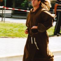Bild Einige Läufer treten auch in ungewöhnlichen Outfits an